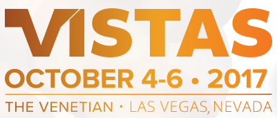 VISTAS 2017 - October 4-6 The Venetian