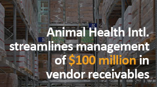 Animal Health International streamlines management of $100 million in vendor receivables