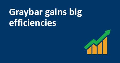 Graybar Gains Big Efficiencies