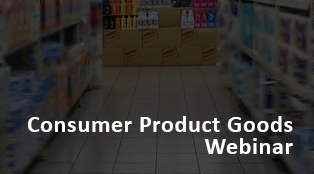 Consumer Product Goods Webinar
