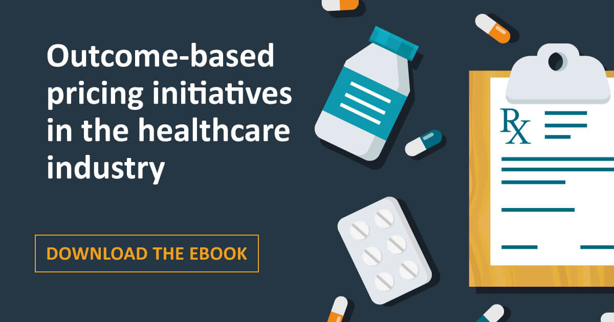 Outcome-based pricing initiatives in the healthcare industry