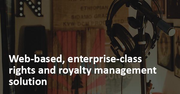 The enterprise rights and royalty management solution designed for multi-territory music publishers!