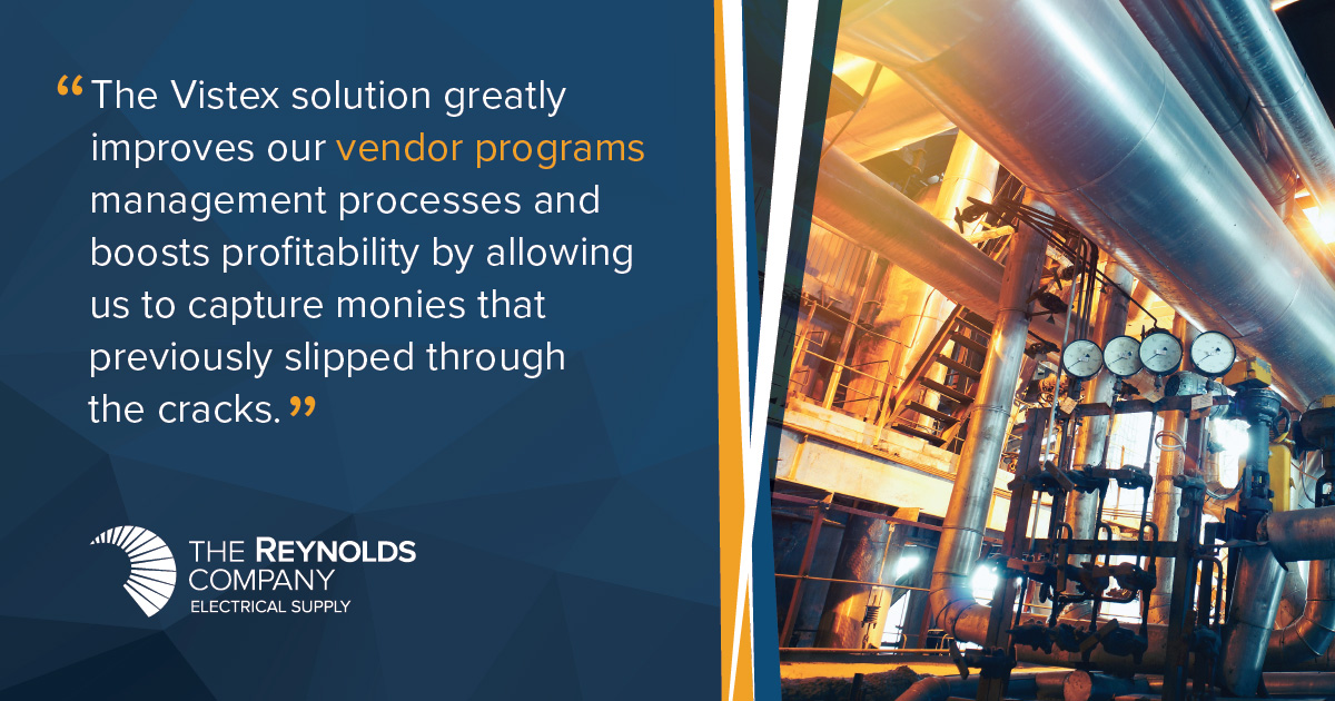 The Reynolds Company Streamlines vendor programs performance with Go-to-Market Suite® by Vistex