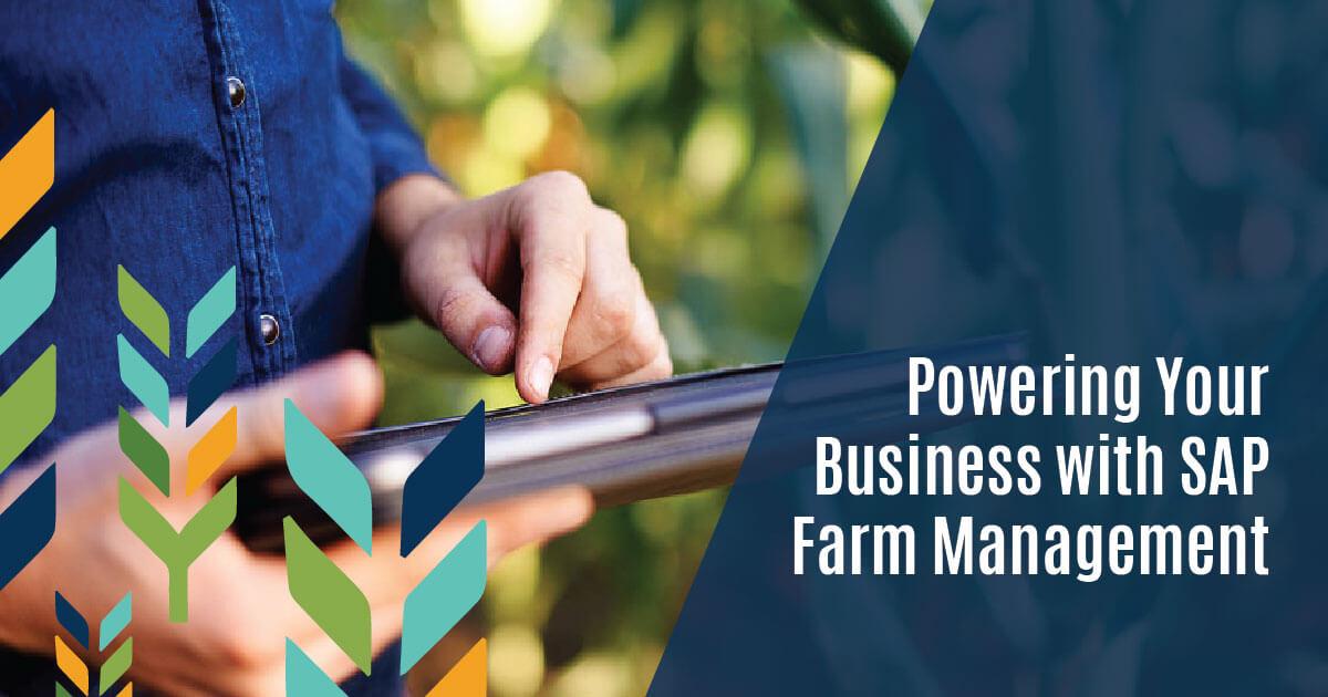 SAP farm management featured image